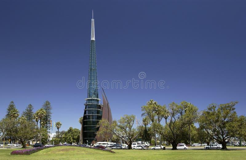Perth Bell Tower - Australia stock photos