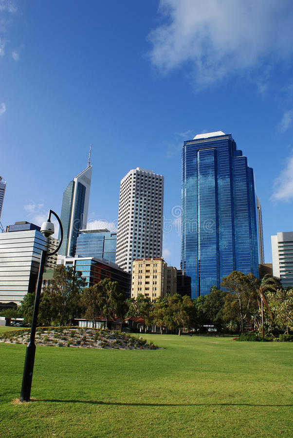 Perth city royalty free stock image