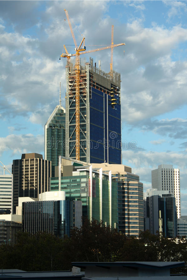 Perth City Buildings stock photo