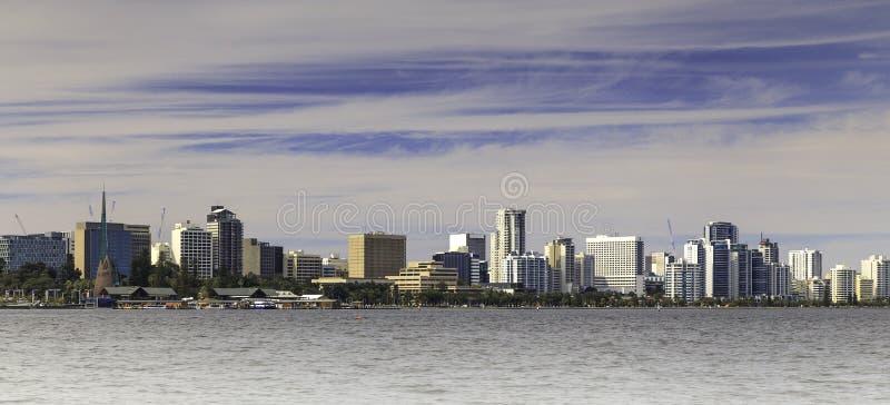Perth City Skyline royalty free stock photography