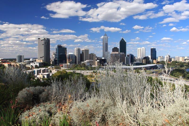 Perth city, Western Australia stock photos