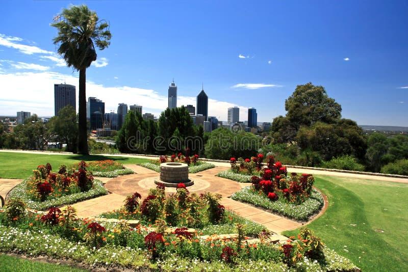 Perth-Stadt, Westaustralien lizenzfreie stockbilder