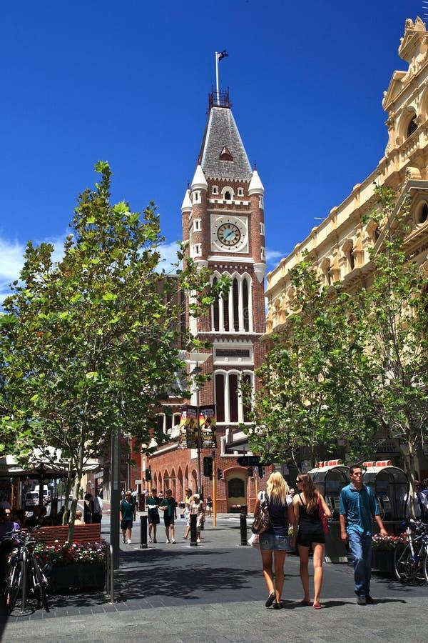Perth Ulica, Zachodnia Australia obraz stock