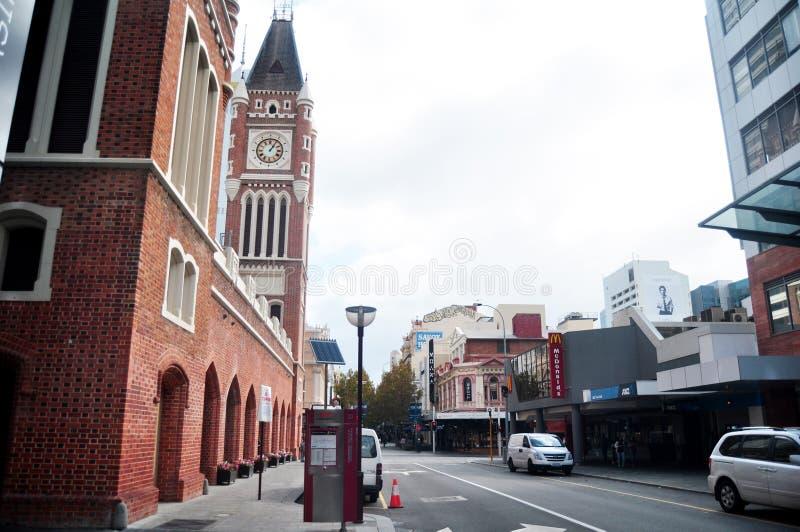 Perth urząd miasta, lokalizujący w Perth, Australia fotografia royalty free