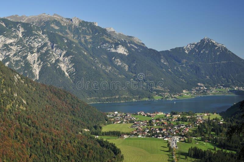 Pertisau & Achensee royalty free stock photos
