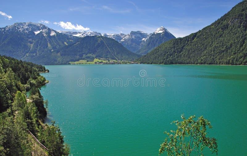 Pertisau, Jeziorny Achensee, Tirol, Austria zdjęcie royalty free