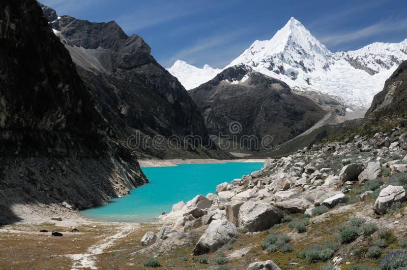 Peru, Cordillera Blanca royalty free stock photo