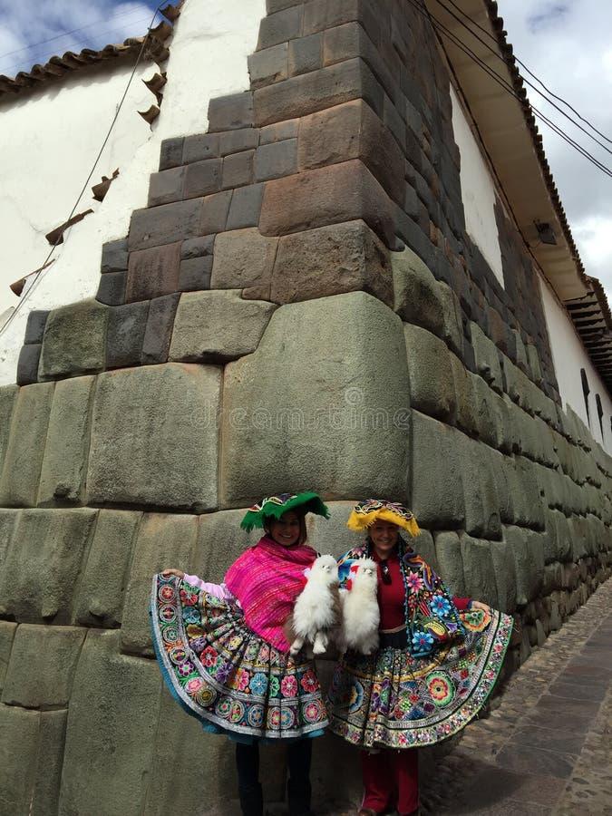 Peru - Cusco fotografia de stock