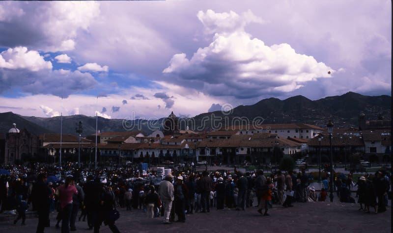 Peru Cuzco arkivfoto