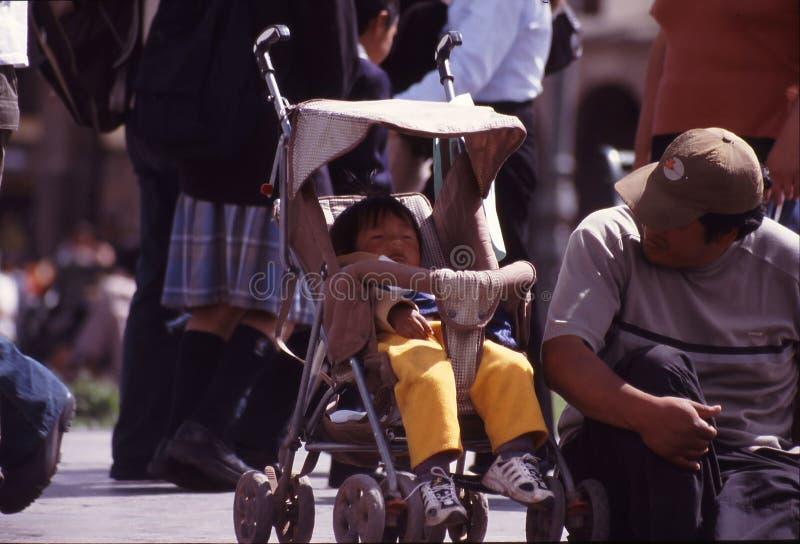 Peru Cuzco images libres de droits