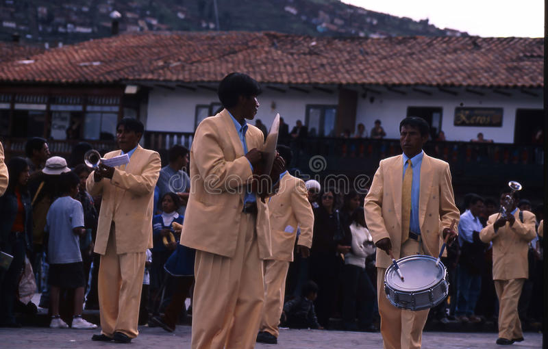 Peru Cuzco royaltyfria foton