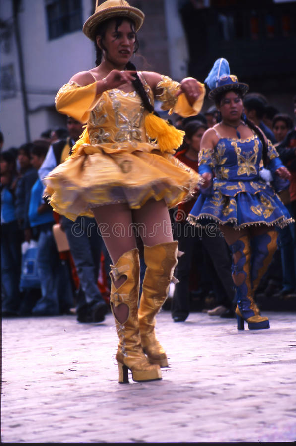 Peru Cuzco royaltyfria bilder