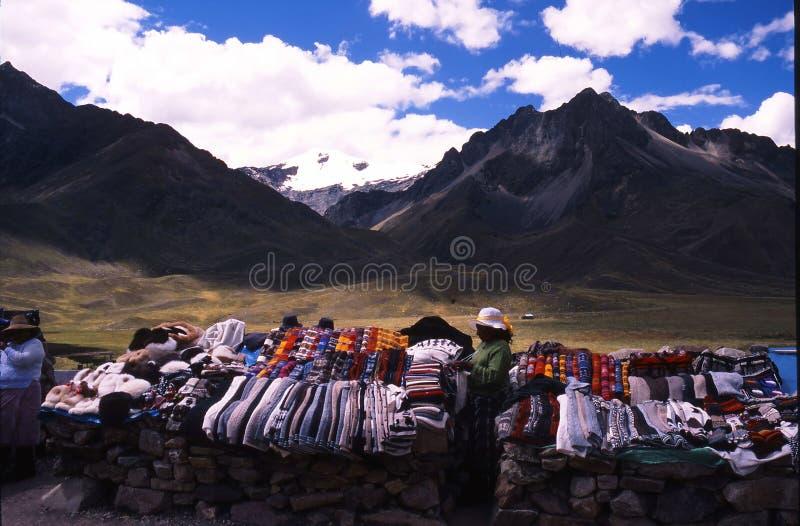 Peru Cuzco fotografering för bildbyråer