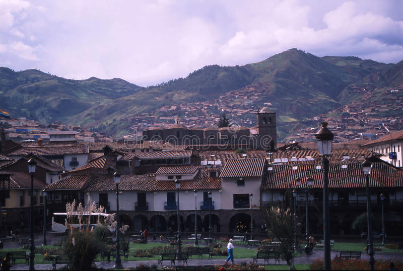 Peru Cuzco image stock
