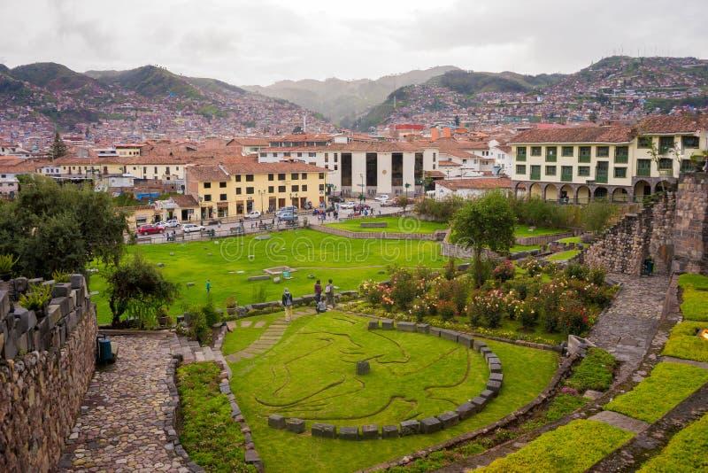 Peru, Cuzco 2017 obrazy stock