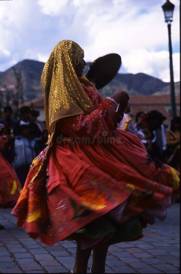 Peru Cuzco festival royaltyfri foto
