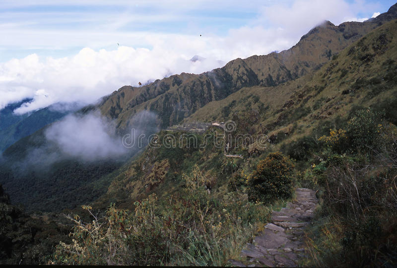 Peru da fuga do Inca fotos de stock