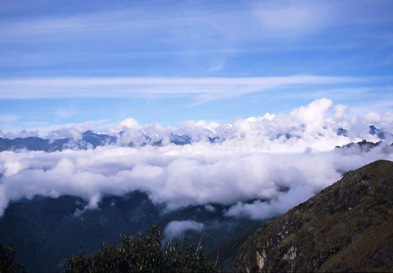 Peru da fuga do Inca imagem de stock royalty free
