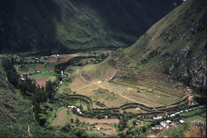 Peru da fuga do Inca fotos de stock royalty free
