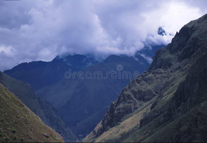 Peru da fuga do Inca imagem de stock