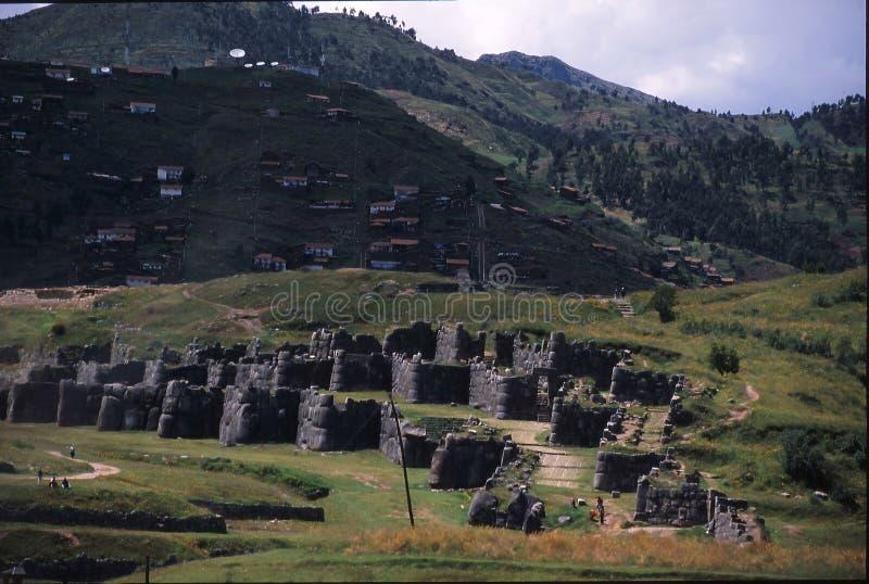 Peru da fuga do Inca fotografia de stock