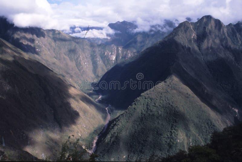 Peru da fuga do Inca fotografia de stock royalty free