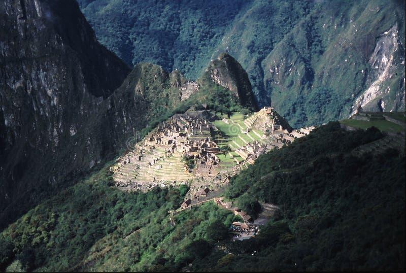 Peru da fuga do Inca foto de stock