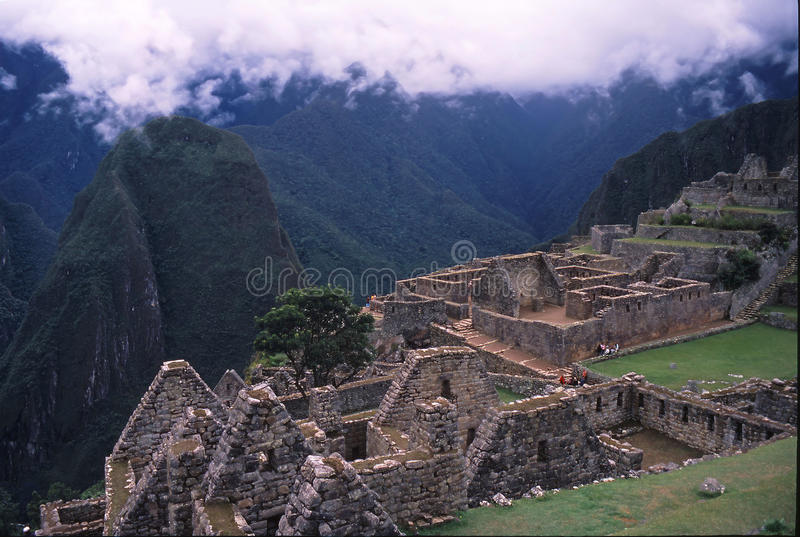 Peru da fuga do Inca foto de stock