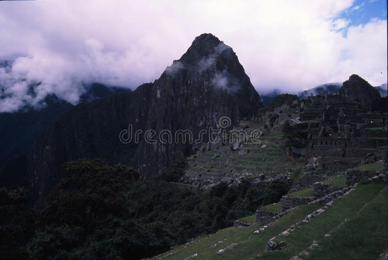 Peru da fuga do Inca imagem de stock royalty free