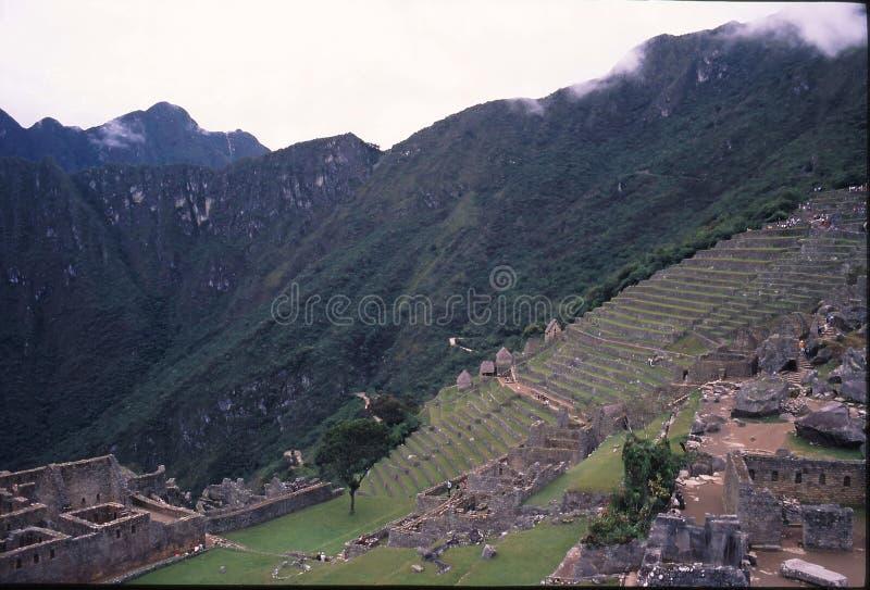 Peru da fuga do Inca imagens de stock