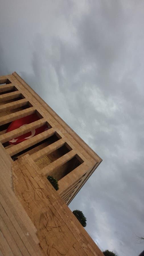 Peru do ataturk de Anıtkabir imagens de stock