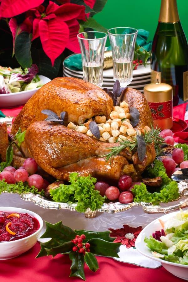Peru do Natal na tabela do feriado fotografia de stock