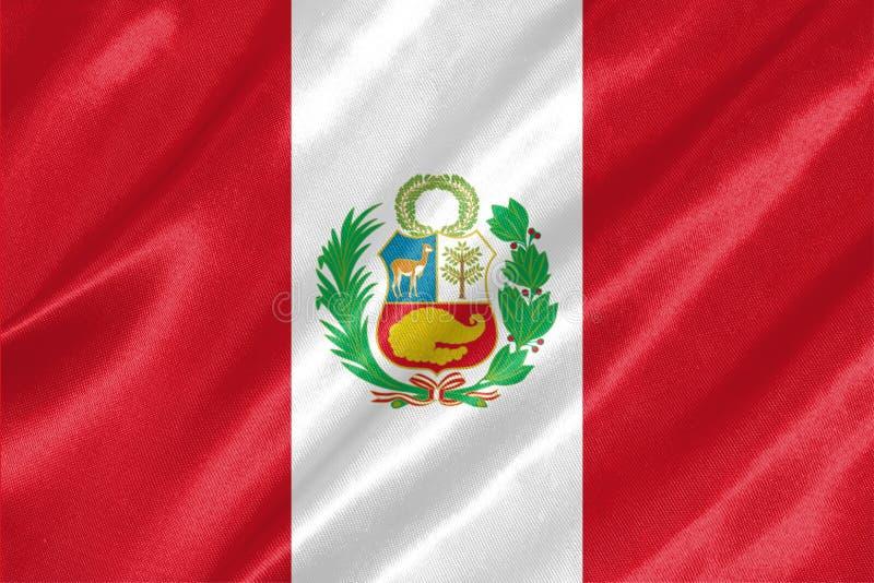 Peru Flag stock illustration