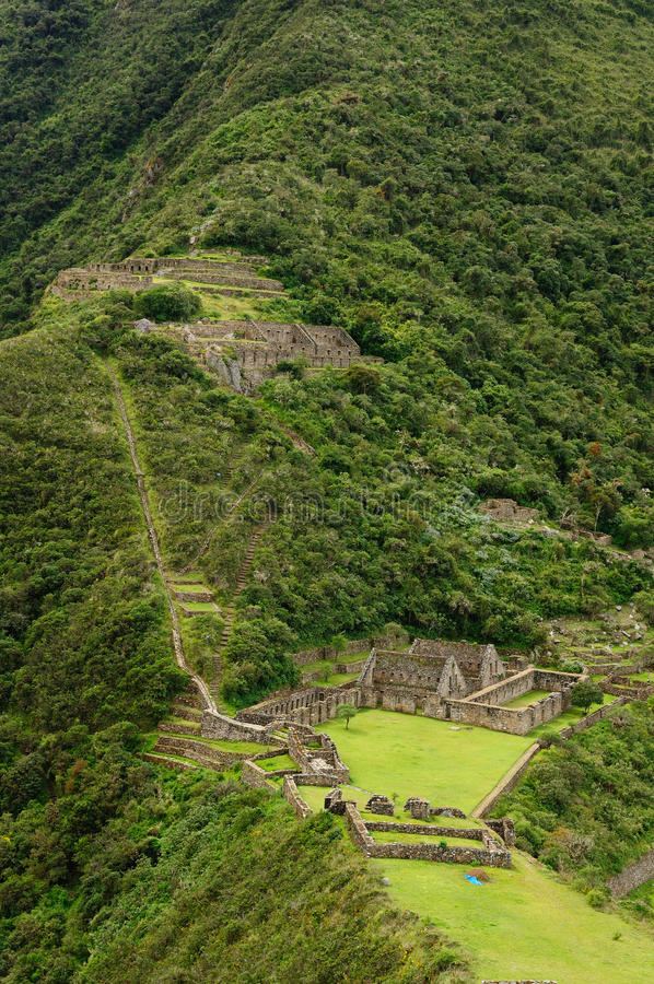 Download Peru, Inca Ruins Of Choquequirau Near Cuzco Stock Photo - Image: 25748426