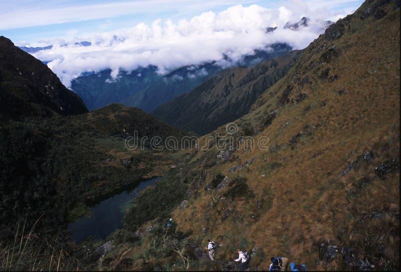 Peru Inca Trail fotos de stock royalty free