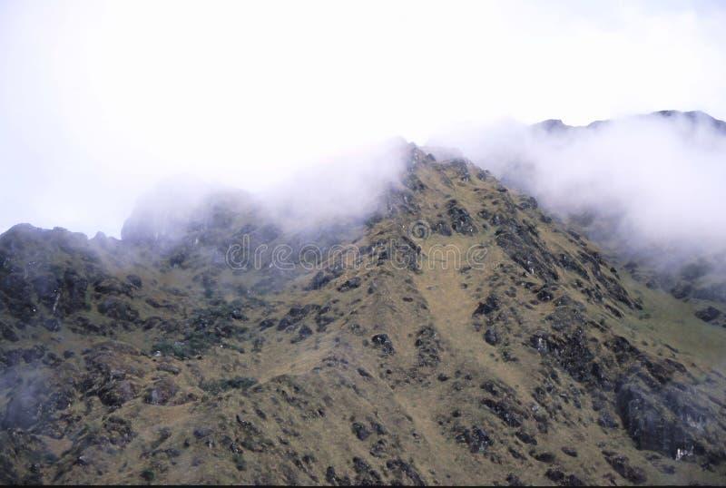 Peru Inca Trail imagens de stock royalty free