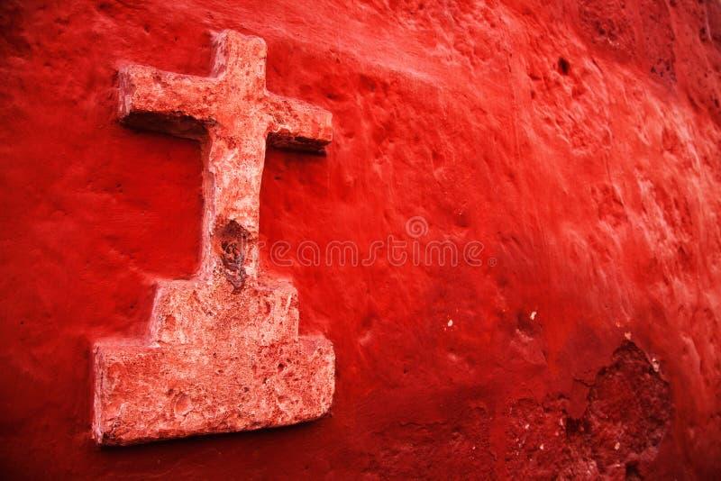 Peru, Katholiek Kruis stock foto's