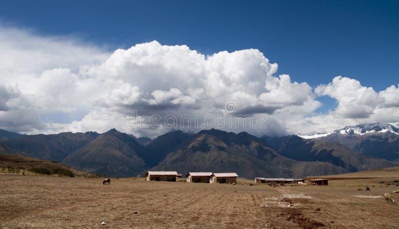 Peru Landscape royalty-vrije stock afbeelding