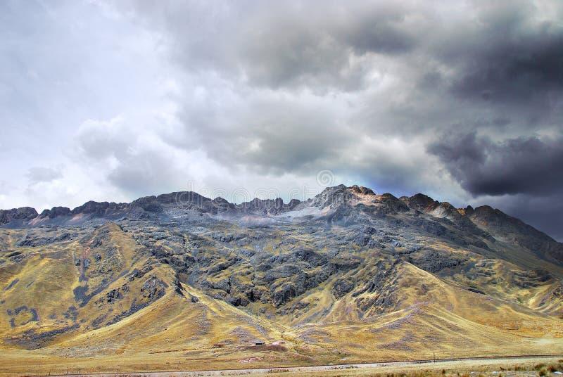 Peru Landscape stockbilder