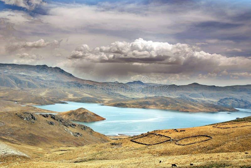 Peru Landscape lizenzfreies stockfoto