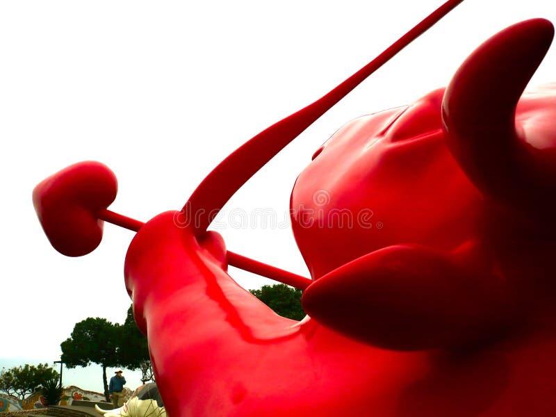 Peru, Lima, krowy parada, rzeźbi zdjęcia royalty free