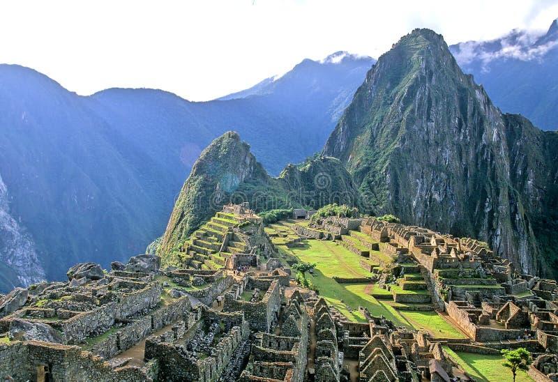Peru machu picchu fotografia stock