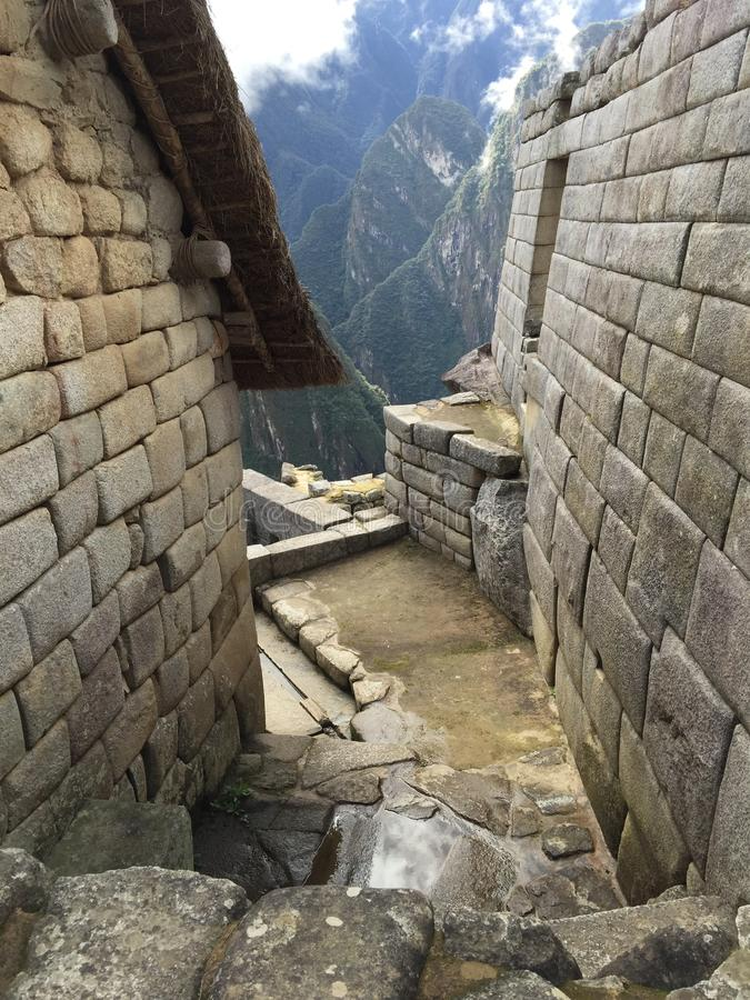 Peru - Machu Picchu foto de stock