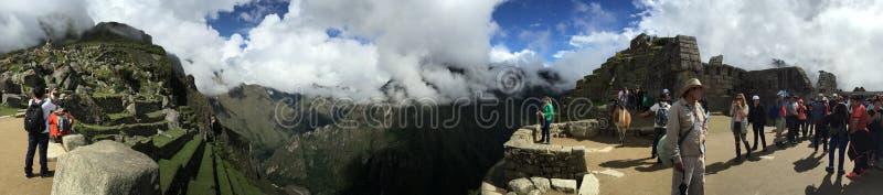 Peru - Machu Picchu stockbild