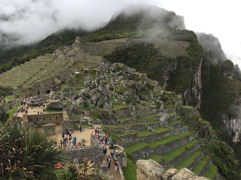 Peru - Machu Picchu stockbilder