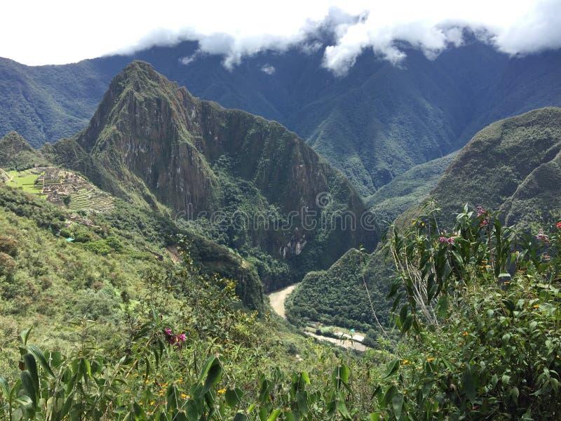Peru - Machu Picchu stockfoto