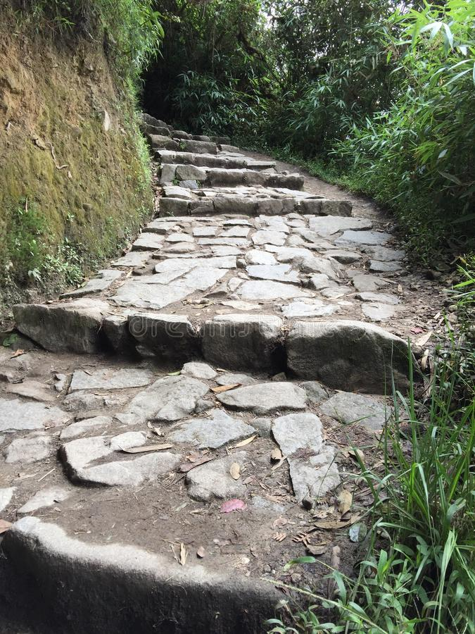 Peru - Machu Picchu stockfotos