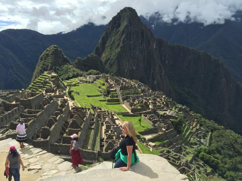 Peru - Machu Picchu lizenzfreie stockfotos