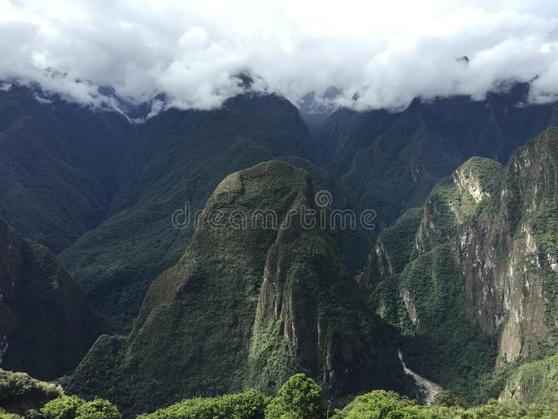 Peru - Machu Picchu fotografia de stock