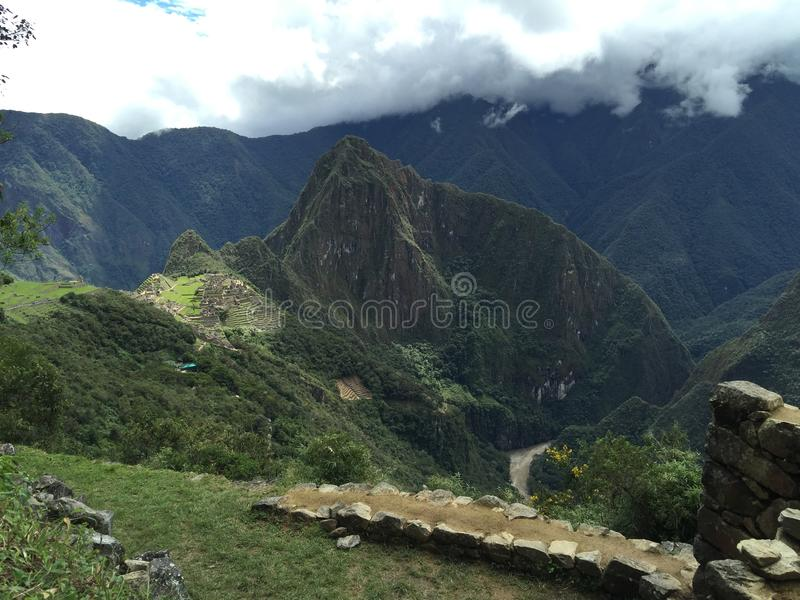 Peru - Machu Picchu lizenzfreies stockbild